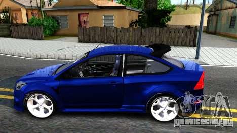 Ford Focus 2 Sedan RS Beta для GTA San Andreas вид слева