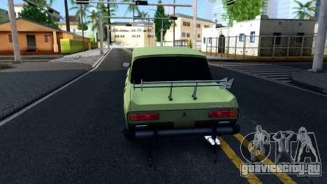 АЗЛК 2140 GT для GTA San Andreas вид сзади слева