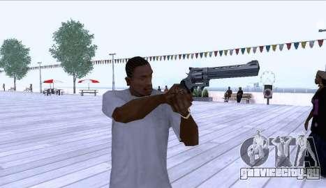 Desert Eagle Revolver для GTA San Andreas для GTA San Andreas второй скриншот