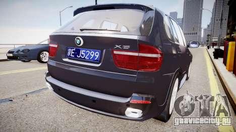 BMW X5 V1.0 для GTA 4 вид справа