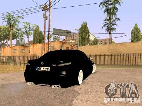 BMW M5 E60 Рестайлинг для GTA San Andreas вид справа