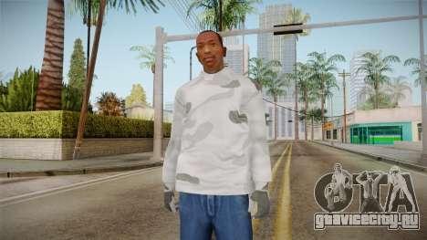 Зимний худи для GTA San Andreas