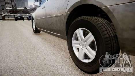 Chevrolet Impala LS для GTA 4 вид сзади