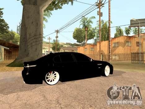 BMW M5 E60 Рестайлинг для GTA San Andreas вид слева