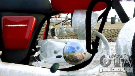 ИЖ Планета 4 для GTA 4 вид изнутри