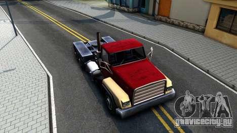 Cement Truck для GTA San Andreas вид справа