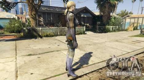 Jill Valentine для GTA 5 второй скриншот