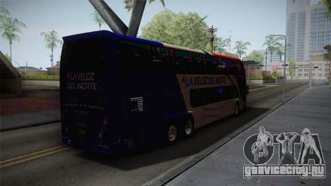 Metalsur Starbus II для GTA San Andreas вид сзади слева