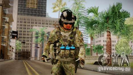 Multitarn Camo Soldier v1 для GTA San Andreas