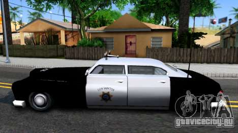 Hermes Classic Police Los-Santos для GTA San Andreas вид слева