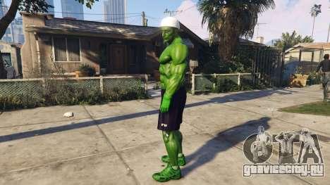 The Hulk human eyes для GTA 5