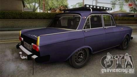 Москвич-412 v2.0 для GTA San Andreas вид слева