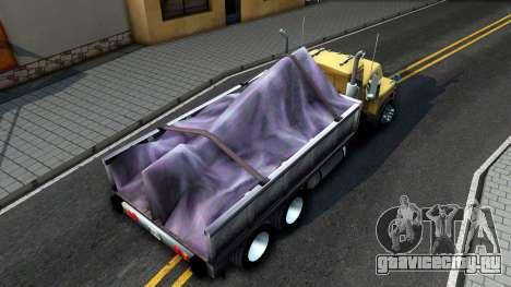 Mack R600 для GTA San Andreas вид сзади
