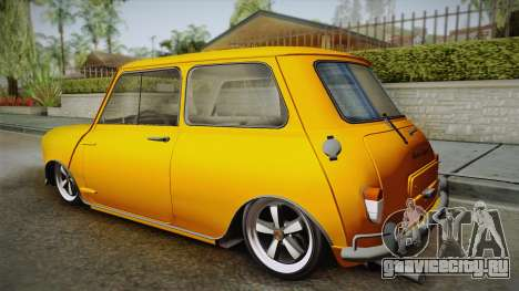 Mini Cooper S 1965 Lowered для GTA San Andreas вид слева