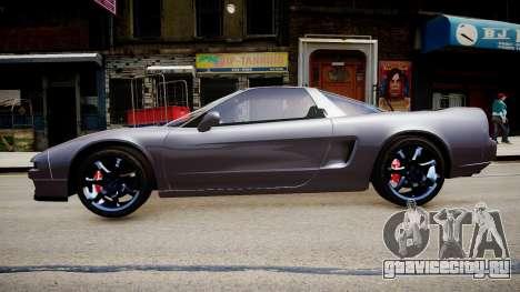 Acura NSX 1997 Retexture для GTA 4