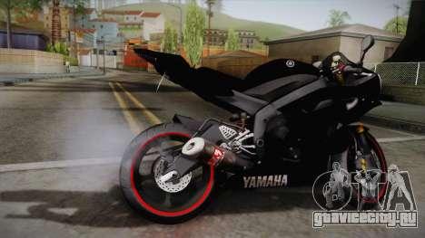 Yamaha YZF-R6 2008 для GTA San Andreas