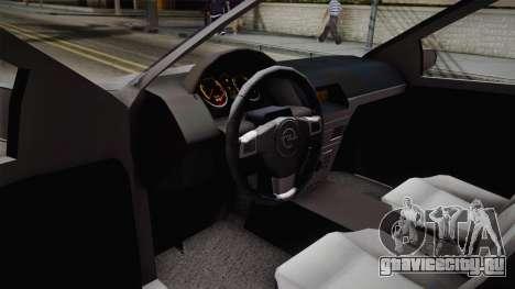 Opel Astra Sedan 2008 для GTA San Andreas