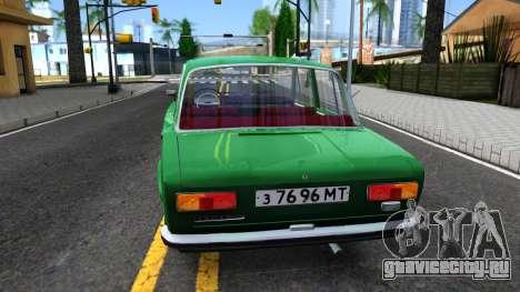 ВАЗ-21011 для GTA San Andreas вид сзади слева