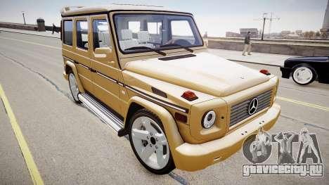 Mercedes-Benz G500 v.2.0 для GTA 4