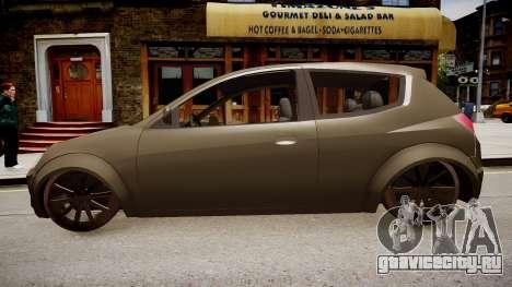 Ford Kalina для GTA 4 вид слева