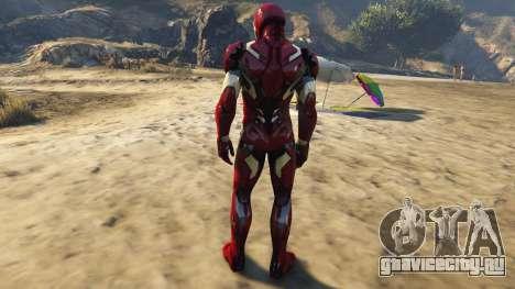 Iron Man Mark 46 для GTA 5 третий скриншот