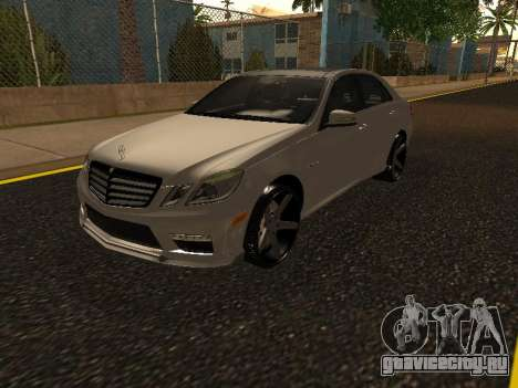 Mercedes-Benz E63 Armenian для GTA San Andreas