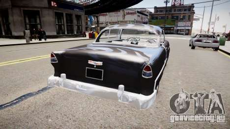 Chevrolet BelAir Sports Coupé 1955 для GTA 4 вид слева
