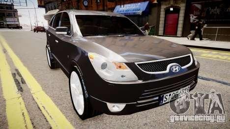 Hyundai Veracruz (ix55) 2009 для GTA 4 вид справа