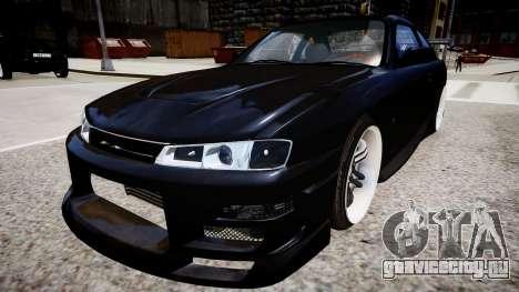 Nissan 200SX Tuning для GTA 4 вид сзади слева