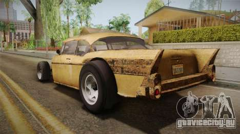 GTA 5 Declasse Tornado Rat Rod для GTA San Andreas вид слева