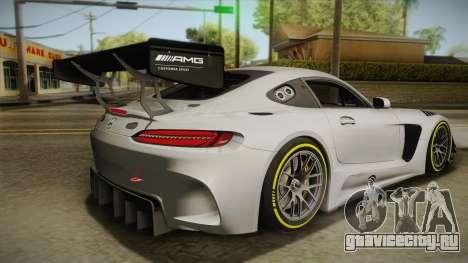Mercedes-Benz AMG GT3 2016 для GTA San Andreas вид слева