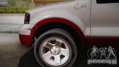 Ford F-150 King Ranch 2005 для GTA San Andreas вид сзади слева