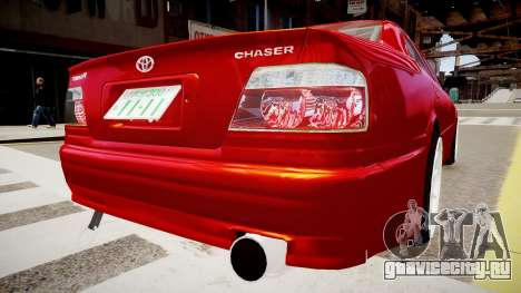 Toyota Chaser Tourer V для GTA 4 вид сзади слева