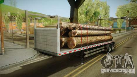 GTA 5 Log Trailer v3 для GTA San Andreas