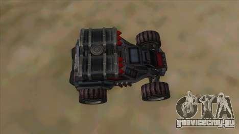 New RC Bandit для GTA San Andreas вид изнутри