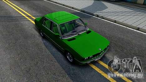 BMW 535i E28 для GTA San Andreas вид справа