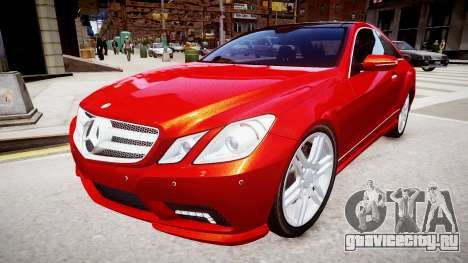 Mercedes-Benz E500 Coupe для GTA 4