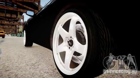 Toyota Celica GT-Four для GTA 4 вид сзади