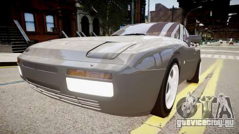 Porsche 944 Turbo для GTA 4