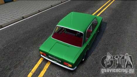 ВАЗ-21011 для GTA San Andreas вид сзади