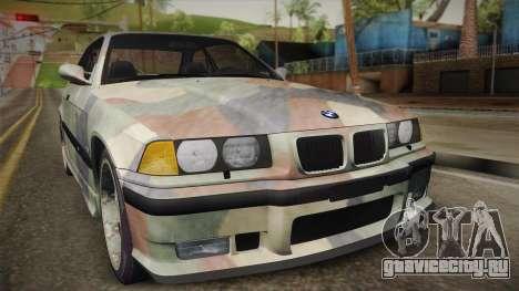BMW M3 E36 TANK для GTA San Andreas вид справа