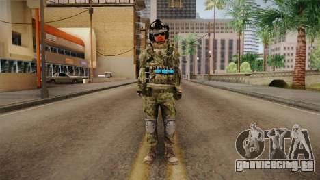 Multitarn Camo Soldier v1 для GTA San Andreas второй скриншот