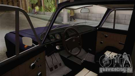 Москвич-412 v2.0 для GTA San Andreas вид сзади