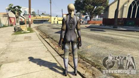 Jill Valentine для GTA 5 третий скриншот