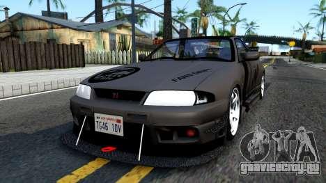 Nissan Skyline GT-R33 Fans Drift для GTA San Andreas