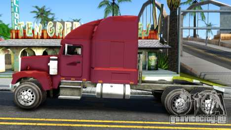Truck From NFS Undercover для GTA San Andreas вид слева