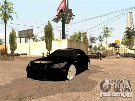 BMW M5 E60 Рестайлинг для GTA San Andreas