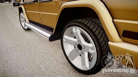 Mercedes-Benz G500 v.2.0 для GTA 4 вид сзади