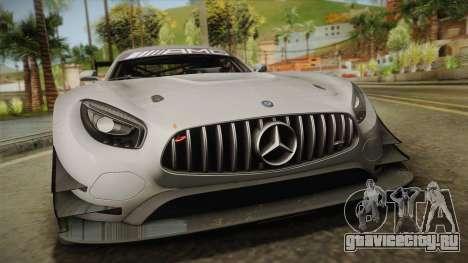 Mercedes-Benz AMG GT3 2016 для GTA San Andreas вид справа