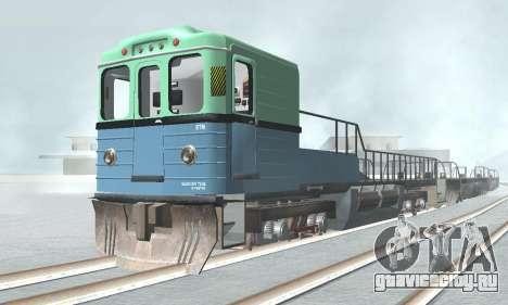 Вагон типа ЕмаЭГ 81-502 0002 для GTA San Andreas вид слева
